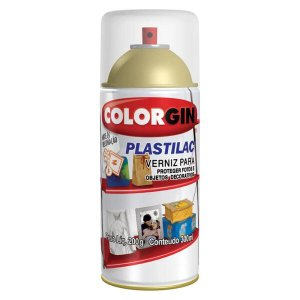 Verniz Colorgin Plastilac Spray 300ml Incolor Fosco