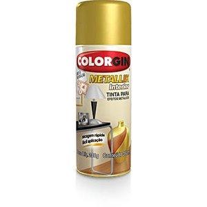 Tinta Spray Metalica Colorgin Metállik 400ml Verde Amazonia