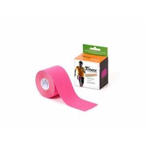 Bandagem Neuromuscular Elástica Adesiva - TMAX - Rosa