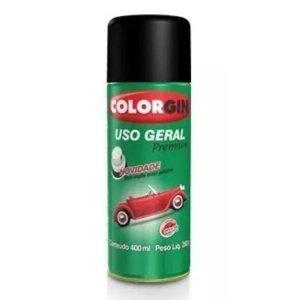 Spray Uso Geral Preto Rapido 52001 400ml Colorgin
