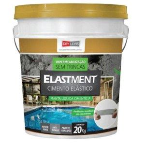 Manta Líquida Elastment Cimento Elástico 20kg Drylevis