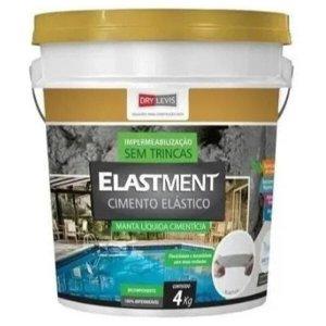 Manta Líquida Elastment Cimento Elástico 4kg Drylevis
