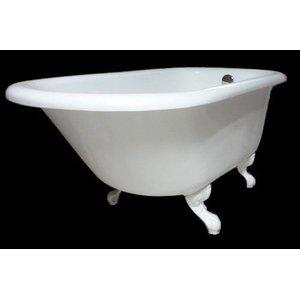 Banheira Vitoriana Branca 1,38m - Classica