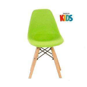 Cadeira infantil Eames Eiffel Junior - Kids - Verde limão