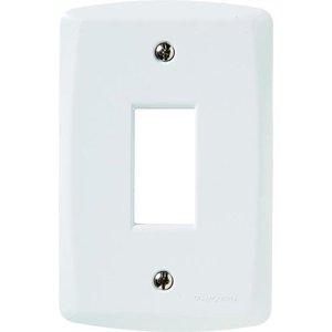 Placa Espelho 4x2 Modulo Lux2 Branca Tramontina 57105003