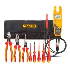 Kit Alicate Amperímetro T6-1000 + Jogo de Ferramentas Isoladas 8 Peças Fluke IBT6K 5067404