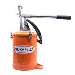 Bomba De Graxa Manual Reforçada Graxeira Engraxadeira 7 litros