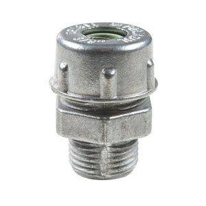 Prensa Cabo Rosca Bsp Aluminio 1/2 Cinza Tramonti 56132056