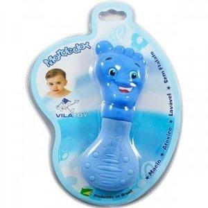 MORDEDOR Bebê Menino- Pèzinho azul- Vila Toy