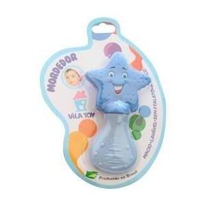 Mordedor Bebê menino- Estrela azul- Vila toy