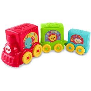 Fisher Price Trem Dos Animais Didático Y8653 - Mattel