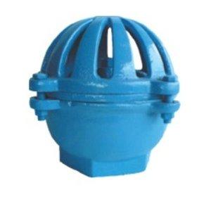 "Válvula De Pé (cebola) Ferro Fundido Azul 4"""