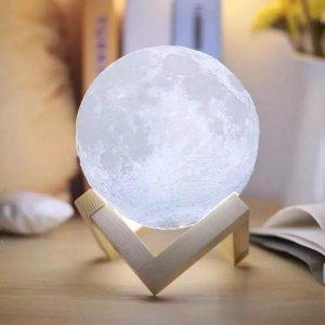 Luminária lua cheia 3D Touch Screen G - 20cm