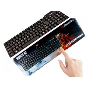 Teclado USB Banson Tech Shertech-802 ABNT2