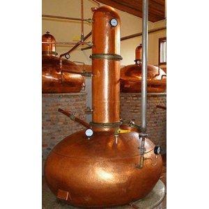 Alambique de cobre 100 litros - Coluna seca