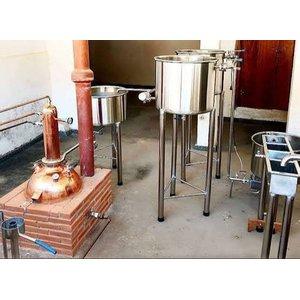 Mini fábrica de cachaça 24 litros dia
