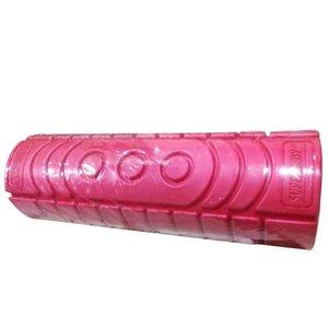 Rolo De Massagem De Liberação Miofascial Para Pilates E Yoga Supermedy Vermelho