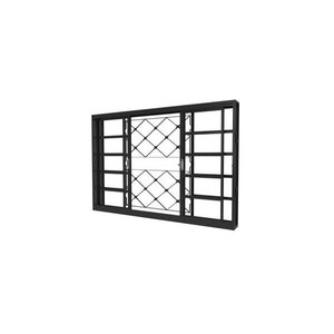 Vitrô Metalpan Xadrez 1.20x100 Com Grade