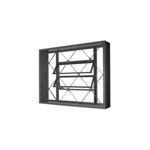 Vitrô Basculante 80x60 Com Grade