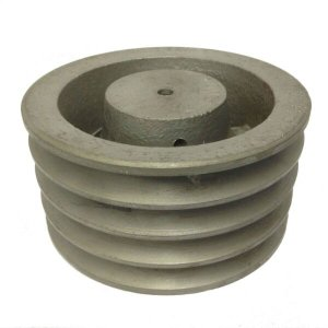 Polia De Ferro Fundido 170mm 4 Canais Perfil A