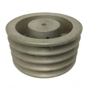 Polia De Ferro Fundido 190mm 4 Canais Perfil A