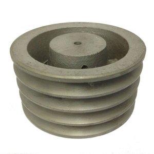 Polia De Ferro Fundido 350mm 4 Canais Perfil A