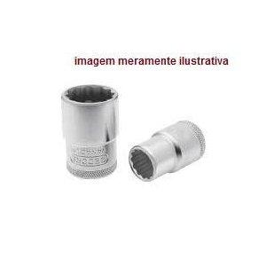 """Soquete Estriado 26 mm Com Encaixe de 1/2"""" - Gedore red"""