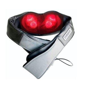 Colete Massageador King Original Mod 2021 Shiatsu c/Sistema Rotativo 360° Fisiomed By Shoppstore® Bi