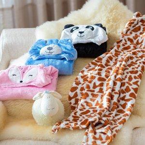 Cobertor Baby Com Capuz Daju Ursa Nina