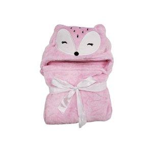 Cobertor Baby Com Capuz Daju Raposa Lili
