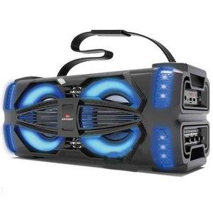 Som Portátil Grasep 80W Bluetooth/Microfone Rádio Fm Usb Sd