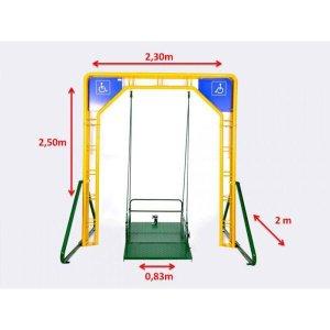 Balanço Adaptado Pra Cadeirante Fácil Esporte