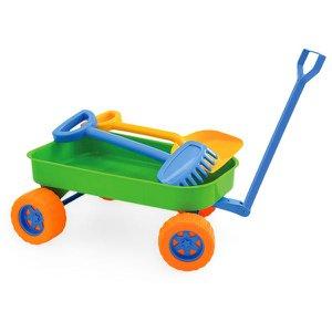 Carrinho De Praia Beach Play - Usual Brinquedos