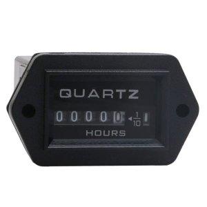 Horímetro Quartzo Dc 12v A 36v