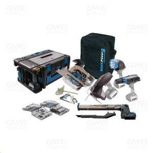 Kit Sem Fio Maksipower 8 Em 1 18V Li-Ion Mp/8 Blue Edition