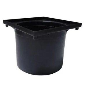 Prolongador Para Caixa Inspeçao / Pluvial 4,5L Preta Taf