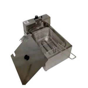 Fritadeira Elétrica Industrial 1 Cuba 5L 220v C/tampa