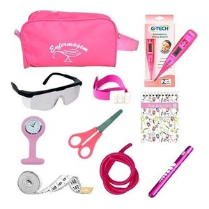 Kit Material De Bolso Para Enfermagem Completo - Pink