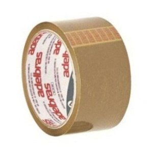 Fita Adesiva Qualitape Para Embalagens 48mmX45m Marrom
