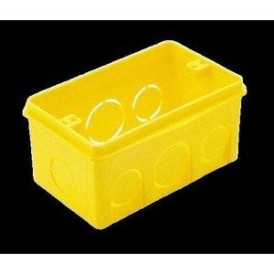 Caixa de Luz 4x2 Amarela Tramontina