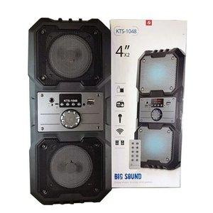 Caixa De Som Portátil Com Bluetooth Fm Pendrive Sd Radio