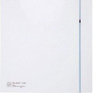 KIT 3 Exaustor Banh. Silent-100cz Design 110V + 5m Duto