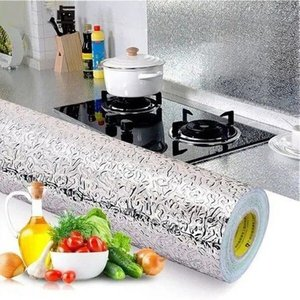 Adesivo Alumínio Impermeável Prova D'água Óleo Resitente Alta Temperatura 3 x 0,61 cm RS