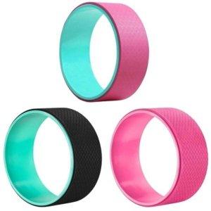 Roda Mágica de Pilates e Yoga Wheel Fitness Premium MBFIT: Rosa