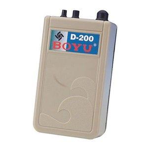 BOYU COMPRESSOR DE AR D-200 À PILHA - UN