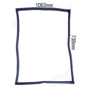 Borracha Silicone Cuverline 10 Esteiras (3602mm) Azul