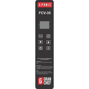 Membrana Painel Frontal Controlador Forno G.Paniz FCV 35