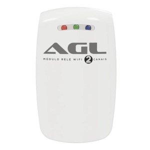 Módulo Relé Agl 02 Canais Wifi Controle Sua Casa Via App No Celular - AGL