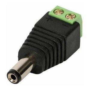 Conector P4 Macho Borne Kit 30 Peças Plug Alimentação