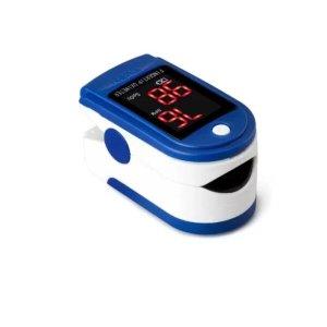 Medidor Digital Pulso Dedo Oximetro Sangue Saturação LK87